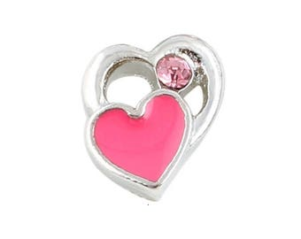 Heart Floating Charm