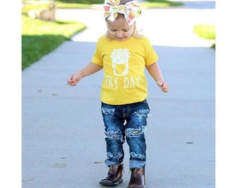 Toddler Shirt / Graphic Tee / FRY DAY / Infant Shirt / Infant tee / Funny kids shirt / kids fashion / cute tee / baby shirt / instagram
