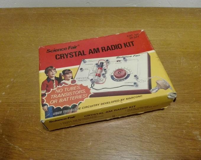 Science Fair - Crystal am Radio kit no 28-207