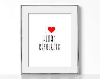 Human Resources Gift Digital Download