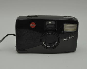 Leica Mini Zoom Compact Point and Shoot Camera with Case