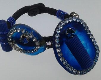 Resin design and Crystal bracelet