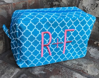 Rodan + Fields Cosmetic Bag | R + F Monogrammed Cosmetic Bag | Rodan and Fields Gifts