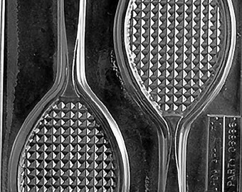 Tennis Racket Chocolate & Soap Mold - S031