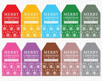 Christmas Tags Printable: CHRISTMAS GIFT Tags