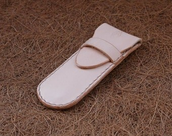 Knife case Balin nature blank leather
