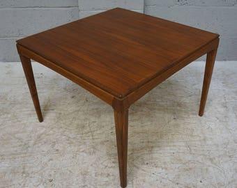 Vintage Teak Square Coffee Table