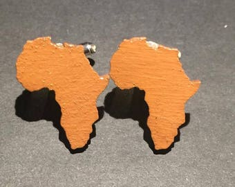 Brown Africa Cuff Links