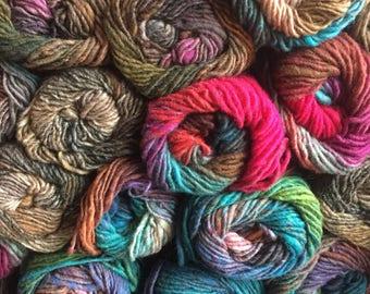 CLEARANCE Noro Kureyon yarn worsted weight single ply