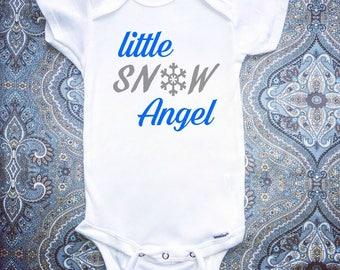 Baby Girl Clothing, Christmas Onesie, First Christmas Onesie, Baby Clothing