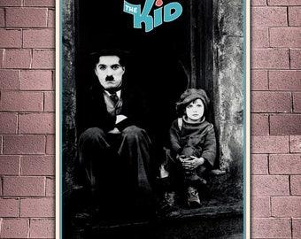 Film Poster The Kid - Charlie Chaplin - Formato: 50x70 CM