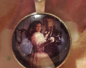 Jareth pendant etsy labyrinth inspired pendant mozeypictures Image collections