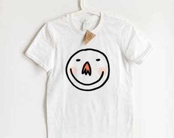 Happy Smiley T-Shirt (XS-L)