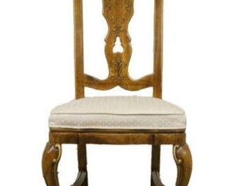 DREXEL HERITAGE Sketchbook Collection French Stenciled Side Dining Chair 153-813
