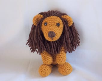 Crochet Lion, Amigurumi Lion, crochet lion soft toy, lion soft toy, lion plushie, READY TO POST in 2 - 3 days