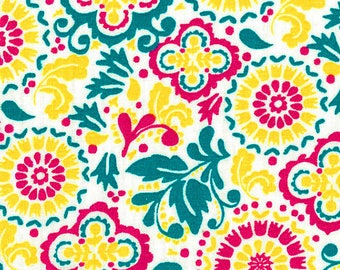 Capri Breeze Floral & Medallion Quilters Showcase Fabric by the Yard