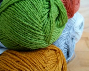 Drops Fabel sock yarn, 4 Ply , 50g,  205mts, wool and nylon