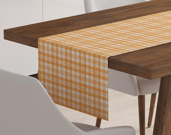 Orange Table Runner | Orange Décor | Orange Table Topper | Orange Table Linen | Orange Linen | Orange Table Décor | Orange Runner