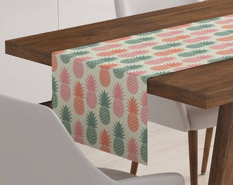 Pineapple Décor | Pineapple Table Decoration | Pineapple Table Linen | Pineapple Linen | Pineapple Table Décor | Pineapple Runner
