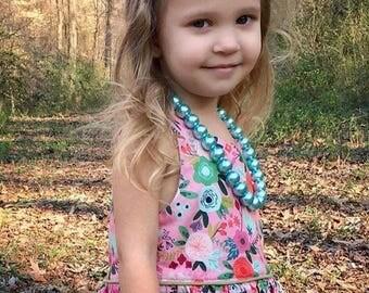 Pink or White Felt Flower | Baby girl | Headband