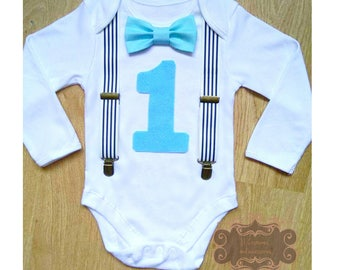 Cake smash outfit, Boy 1st birthday outfit, Photo props, Gentelman outfit, Bodysuit 1st, Birthday boy bodysuit, Bodysuit with suspenders