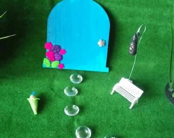 Fairy door,  fairy door kit,  fairy garden kit, fairy garden accessories, fairy door starter kit, fairy garden starter kit