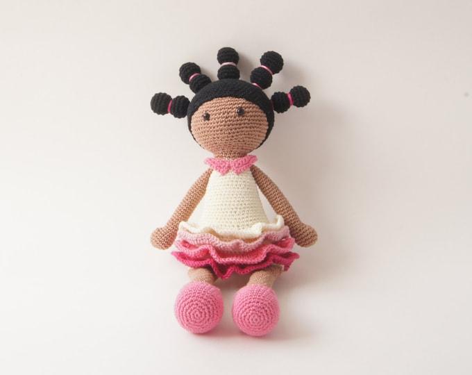 Crochet Doll, Stuffed Toy, Gift For Kids, Amigurumi Doll, Crochet Amigurumi Handmade, Gift for Girl, Ballerina Doll