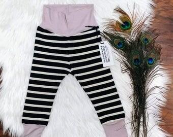 Bamboo Baby Leggings + Modern Handmade Leggings + Twin Set +  Baby Shower Gift + Gender Neutral + Boy + Girl + Infant  + High Quality
