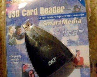 Photo Card Reader PNY Technology UBS Plug 1.1 And Play For Photos