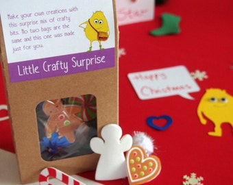 Kids crafty box ideal for a stocking filler gifts or a little activity for the Christmas dinner table