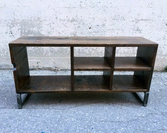 Rustic Wood TV Stand, Storage Unit, Custom Sizes Available