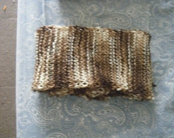 Amazing Long Handmade Knit Scarf - Mother Earth - Perfect for Gifting!!
