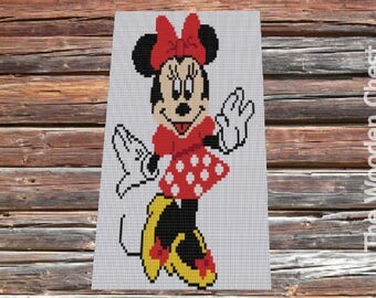 Minnie Mouse Blanket Etsy