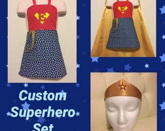 Superhero Cape - Reversible Children's Super Hero