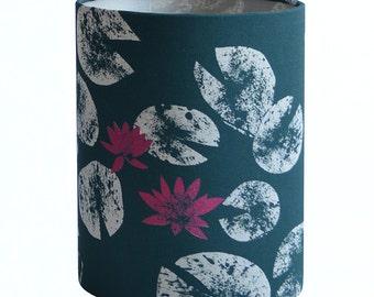 Water Lilies Lamp Shade