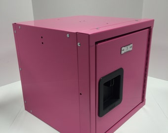 "ULocker 15""x15""x15"" All Pink Locker Cube"