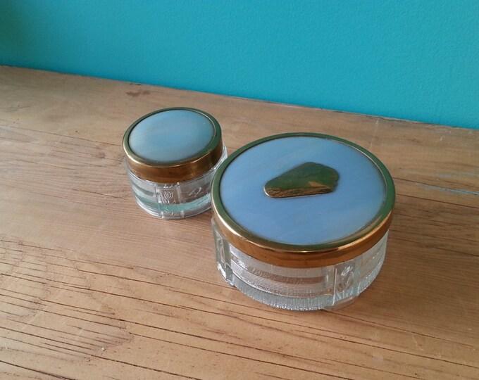 1930's Antoine Boudoir Makeup Jars