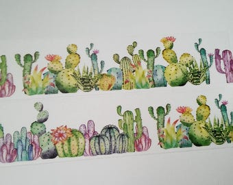 Design Washi tape Cactus Cactus plants