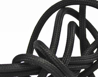 Textile cable node collection - black