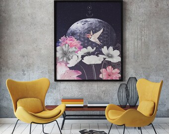 Surreal Art Print, Surrealist Art, Surreal Print, Surrealism, Home Decor, Wall Art, Modern Decor