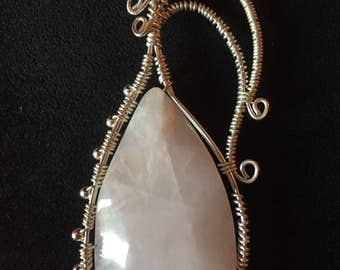 Wrapped Rose Quartz