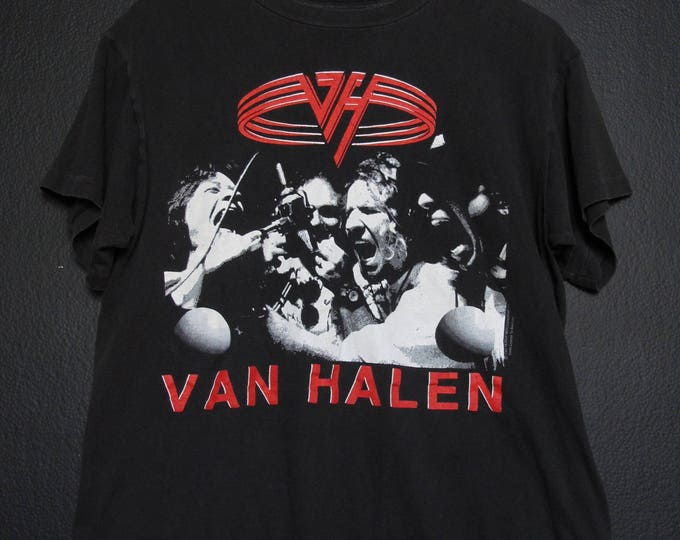 Van Halen 1991 For Unlawful Carnage Knowledge N Live vintage Tshirt