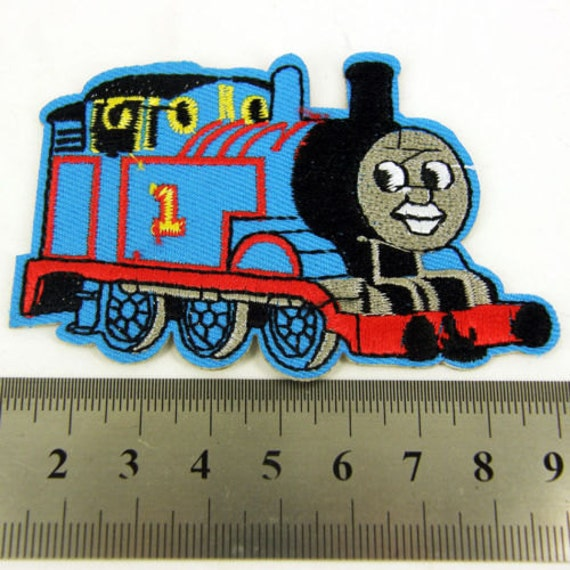 Thomas The Tank Engine Kids Iron Sew On Patch Clothes