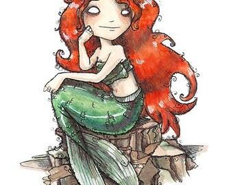 The little Mermaid // Print