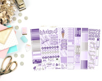 Jessica Deluxe Kit, planner stickers
