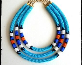 collier perle kenya