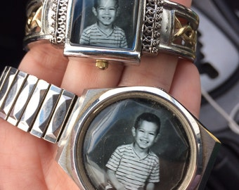 """Photo """"locket"""" watch"""