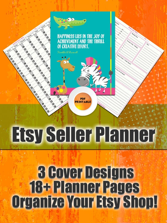 Etsy Sellers Planner | For Etsy Sellers, Planner for Etsy Business, Printable Etsy Planners, Best Etsy Planners, Etsy Seller Worksheets