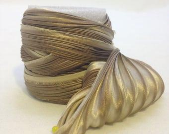 Silk ribbons Shibori N 89