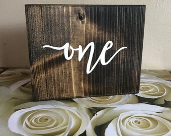 Wedding reception, wood table numbers, rustic wedding decor,reception table numbers, number signs